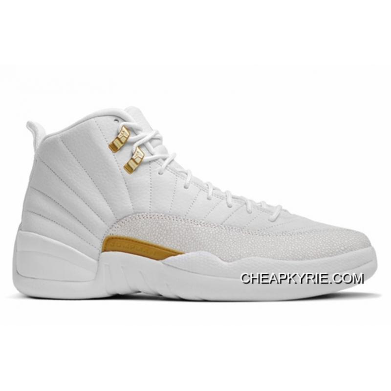 Air Jordan 12 OVO WhiteMetallic GoldWhite Authentic