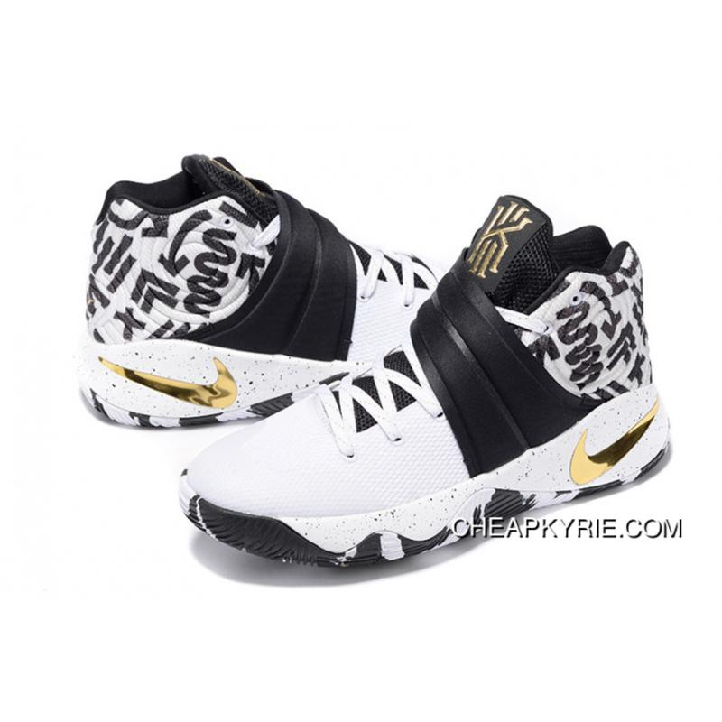 ... Nike Kyrie 2 ID Camo White Black And Gold Lastest ...