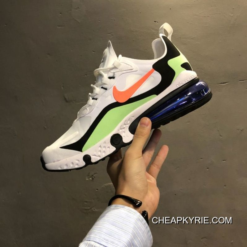 Outlet Men Nike Air Max React 270 Running Shoes SKU 76077-331 1510f8b83