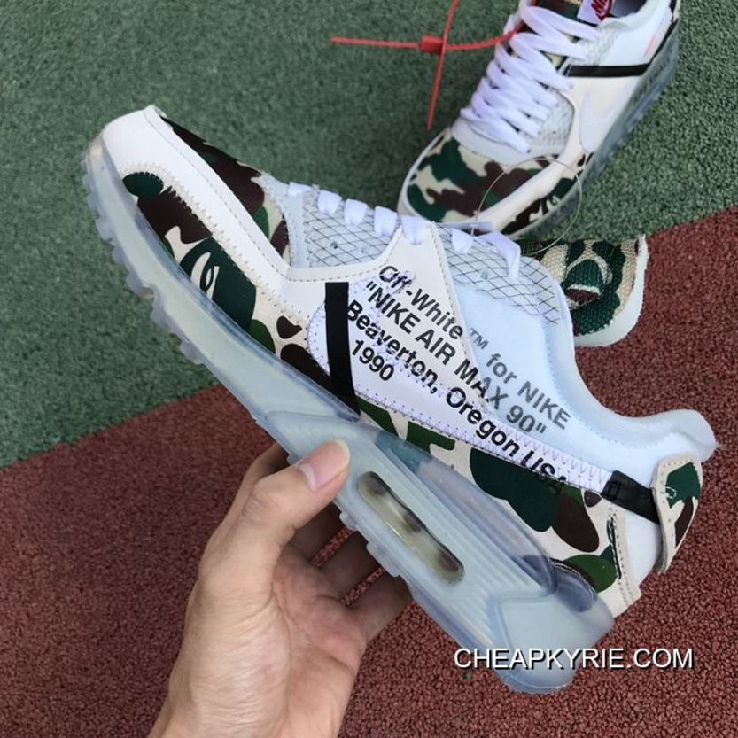 a846d0ac5eee7 Women OFF-WHITE X Nike Air Max 90 Sneakers SKU 3228-304 Where To Buy ...