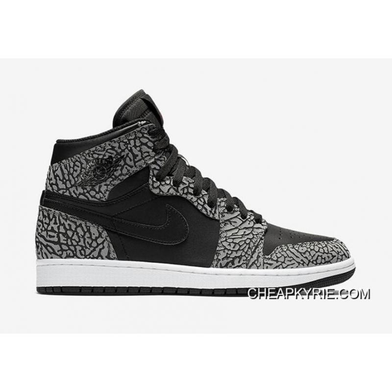 "Air Jordan 1 High ""Un-Supreme"" Black/Cement-White-Varsity ..."