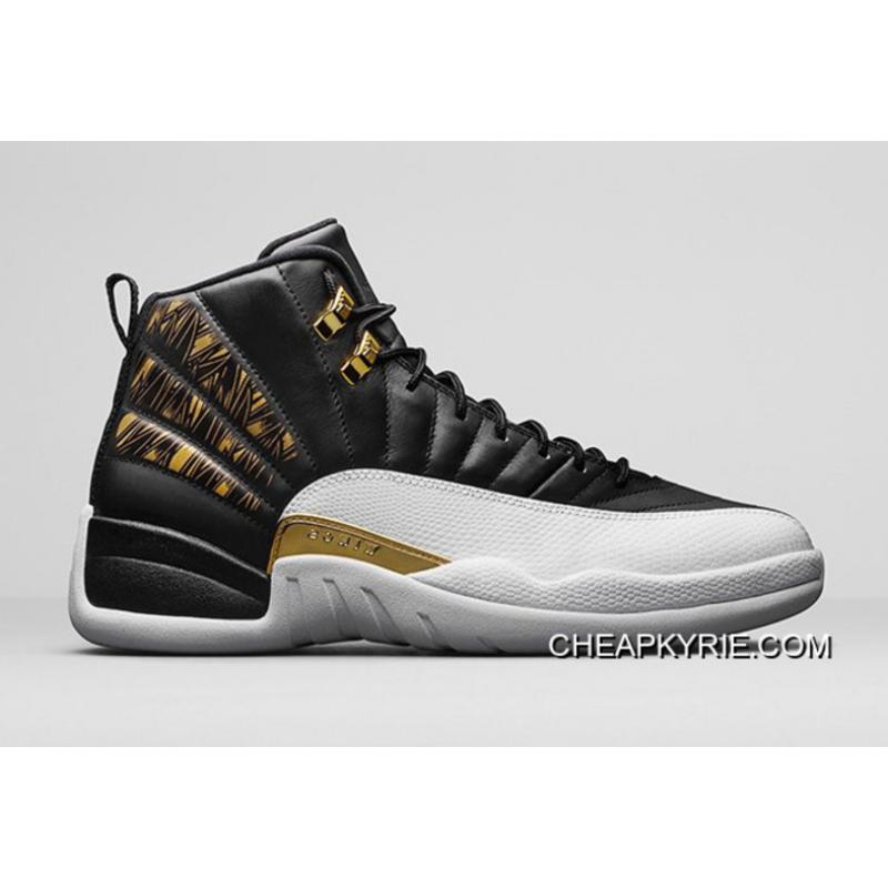 Air Jordan 12 Gold Wings Free Shipping