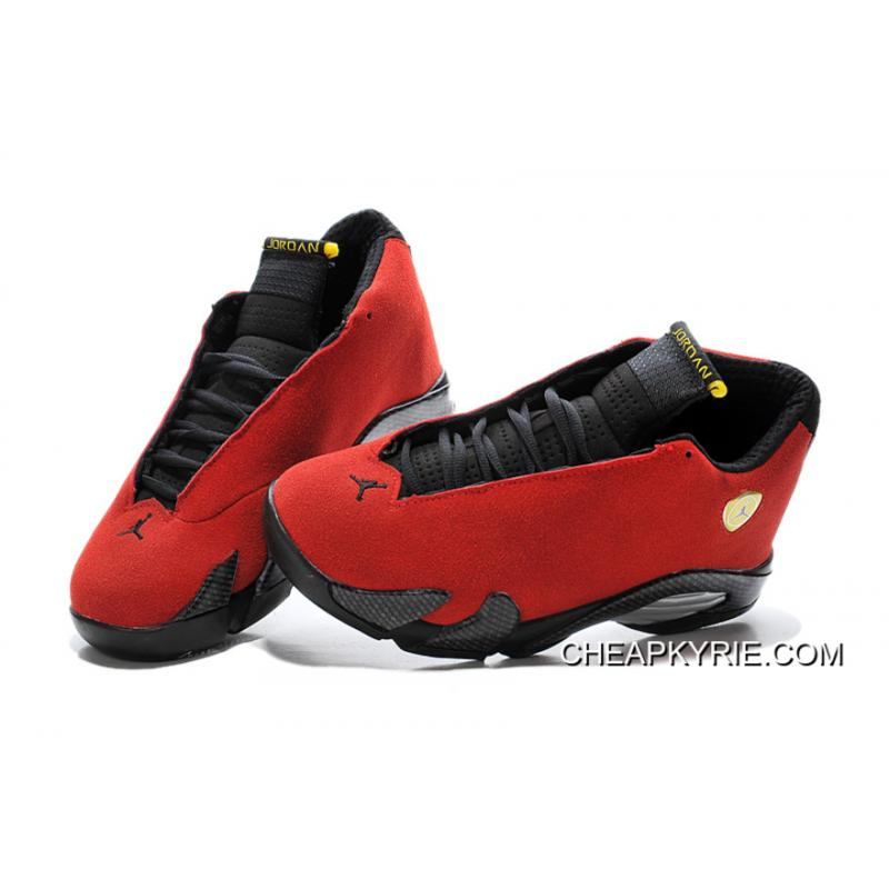 "the latest c8a56 368af Air Jordan 14 ""Ferrari"" Chilling Red/Black Vibrant Yellow For Sale"