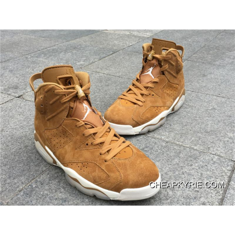"purchase cheap 68b91 9a249 ... Air Jordan 6s Retro ""Wheat"" Golden Harvest Sail Super Deals ..."