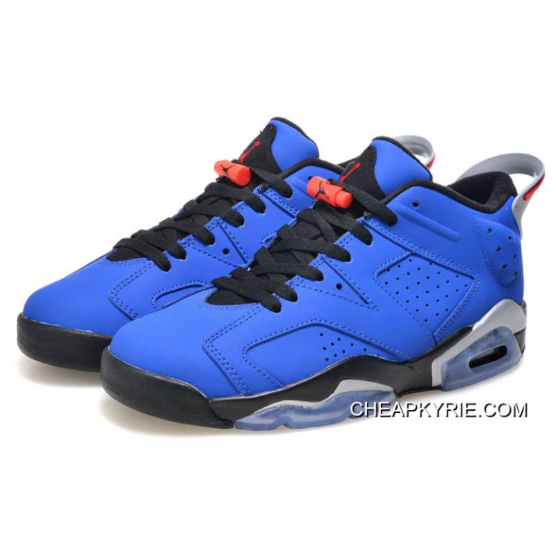 "Air Jordan 6 Low ""Eminem"" Blue BlackGrey Super Deals . 8f8959e20b"
