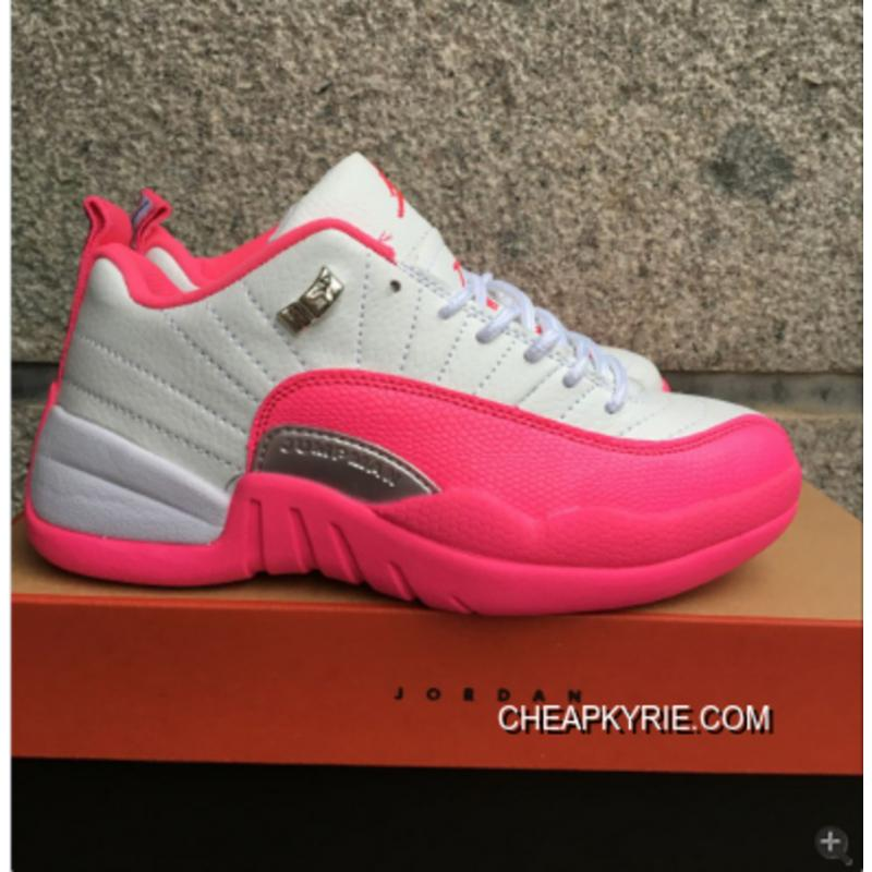 Air Jordan 12 Low GS Vivid Pink Best