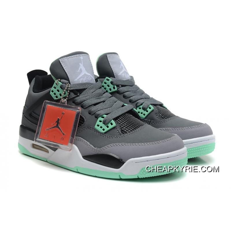 00343d00a4722b air jordan retro 4 green glow nz sneakers