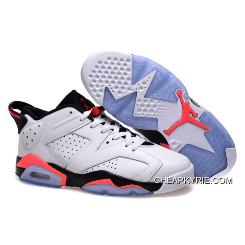 Air Jordan 6 Low GS White Infrared For Sale