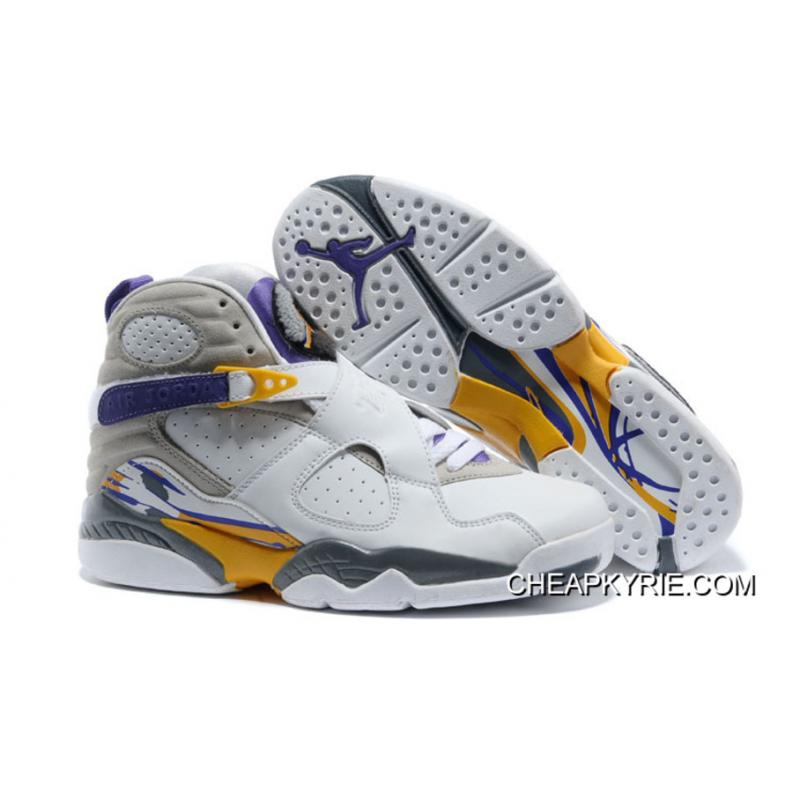 "the latest dc5ee f43a3 Air Jordan 8 ""Kobe Bryant Lakers Home"" PE Cheap To Buy"