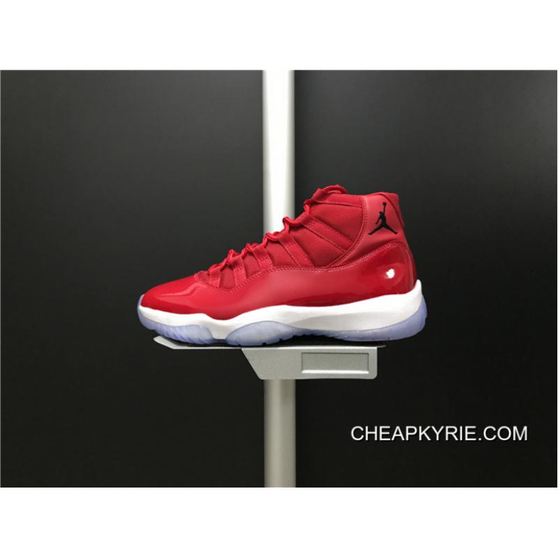 online store 6ffd0 77877 Top Deals 378037-623 Air Jordan 11 Gym Red Carbon True Shoes Also Red And  White Colorways Men