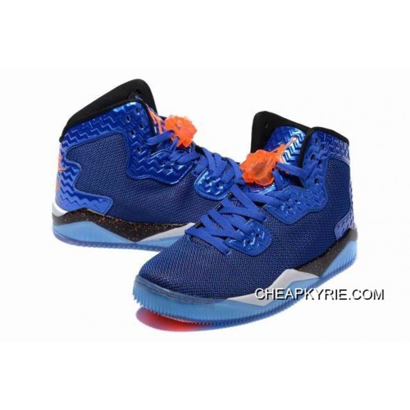 "... Jordan Air Spike 40 Forty PE ""Game Royal"" Game Royal/Total Orange- ..."