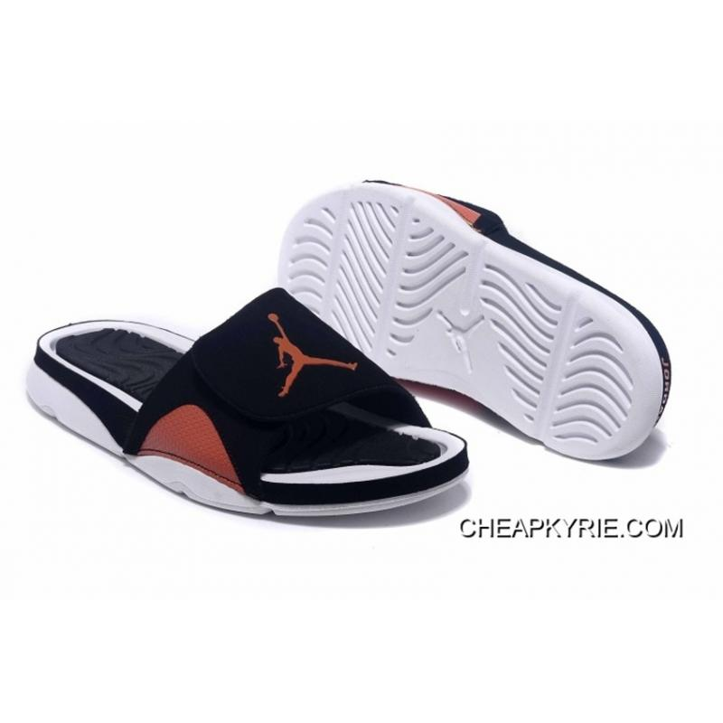 Jordan Hydro IV Retro Black Orange White New Release