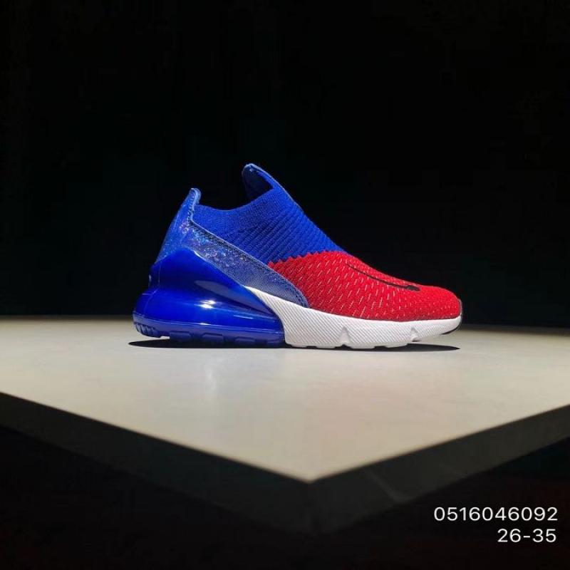 premium selection 2a0b1 b26b0 Kids Nike Air Max 270 Running Shoe SKU:33668-271 New Style
