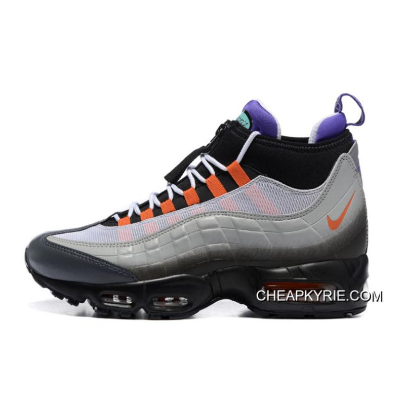 Men Running Shoes Nike Air Max 95 Sneakerboot SKU26385229 Copuon