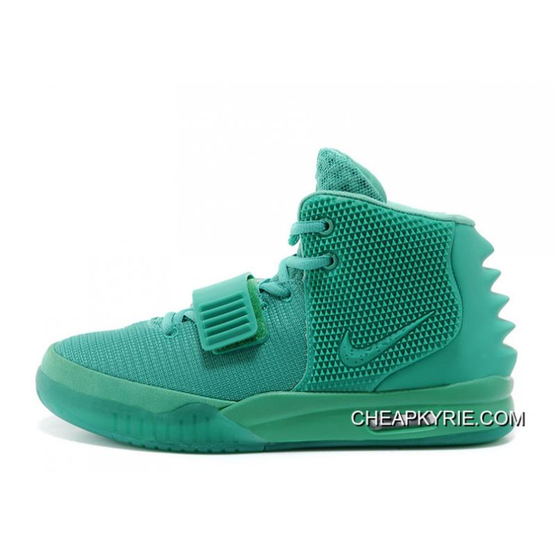 "bdb5f6aa071 Nike Air Yeezy 2 ""Green Lantern"" Glow In The Dark Free Shipping ..."