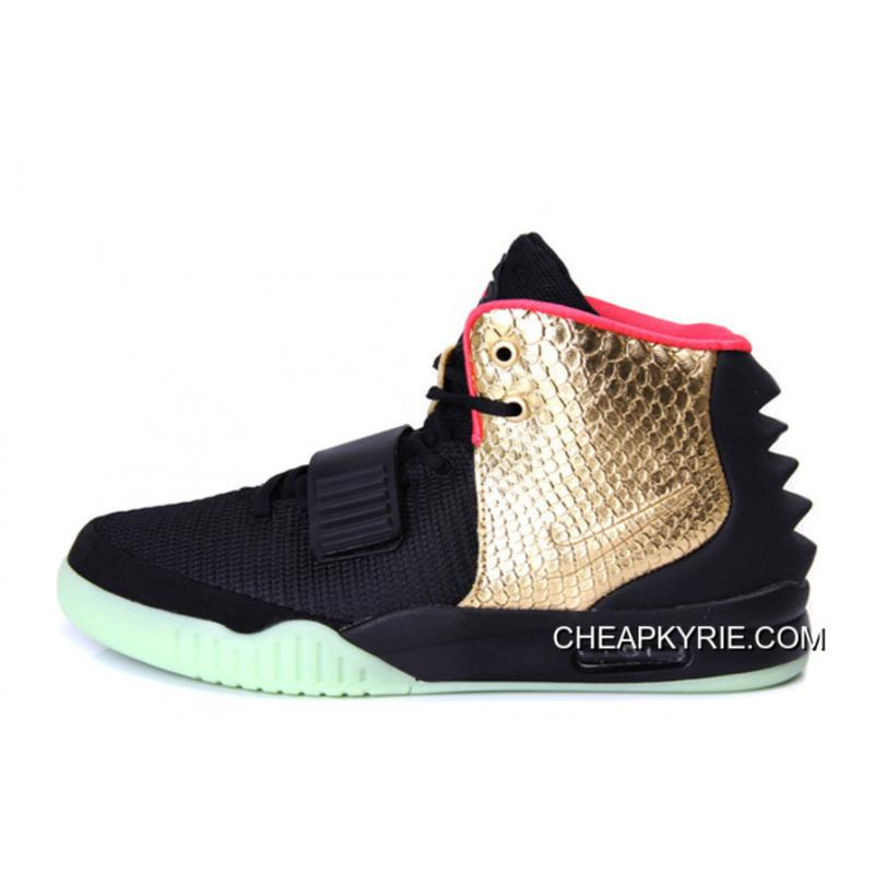 "separation shoes 06a11 1e98c Nike Air Yeezy 2 ""Imperial"" Black Gold Glow In The Dark Top Deals ..."