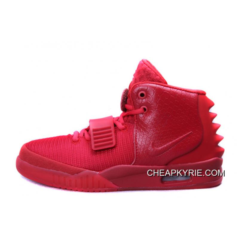 """reputable site d4c3d aea97 Nike Air Yeezy 2 """"Red October"""" Glow In The Dark New Release ..."""