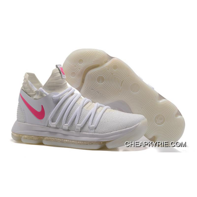 competitive price 033d8 33146 promo code for nike kd 10 womens white pink 31129 722ef