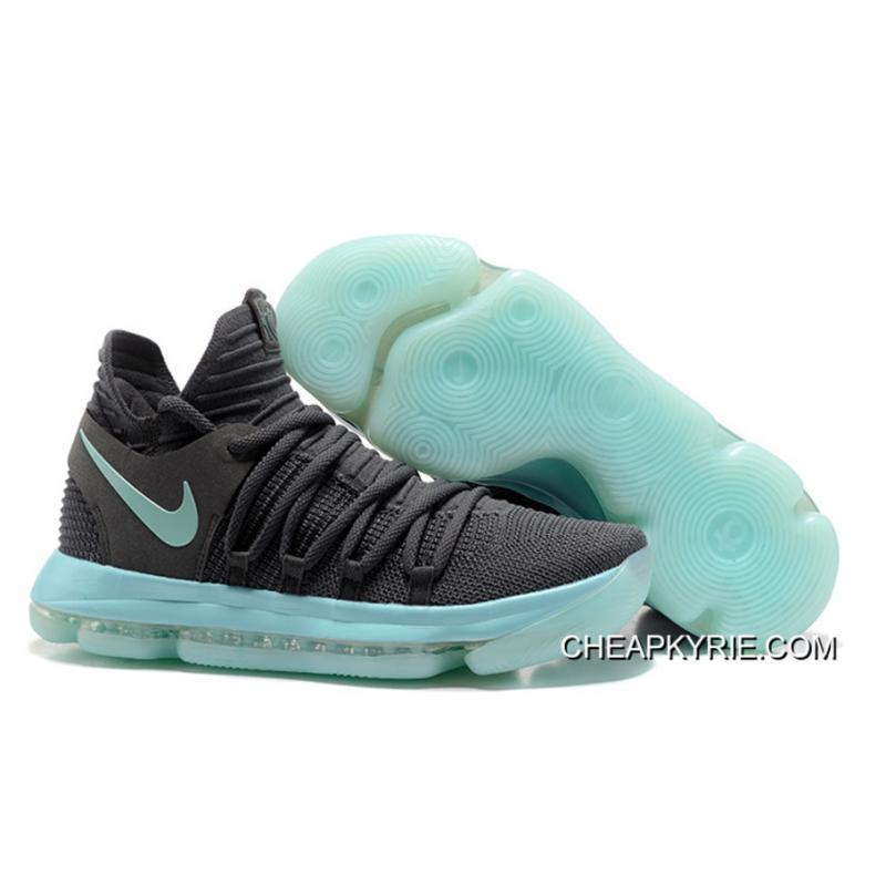 "the latest 65c9b c5936 Outlet Nike KD 10 ""Igloo"" Cool Grey Igloo-White ..."