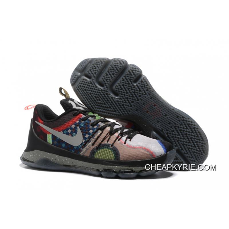 """low priced 75735 0b210 Nike KD 8 SE """"What The"""" Multi Color Multi Color New Style ..."""