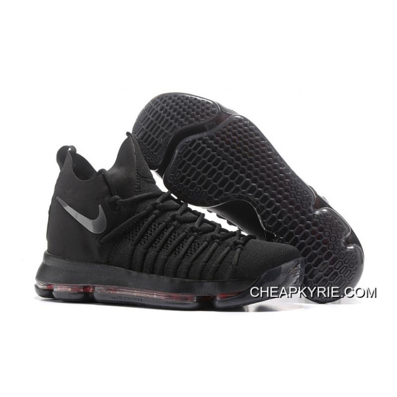 5edc9468e640 Nike Zoom KD 9 Elite All Black Cheap To Buy ...