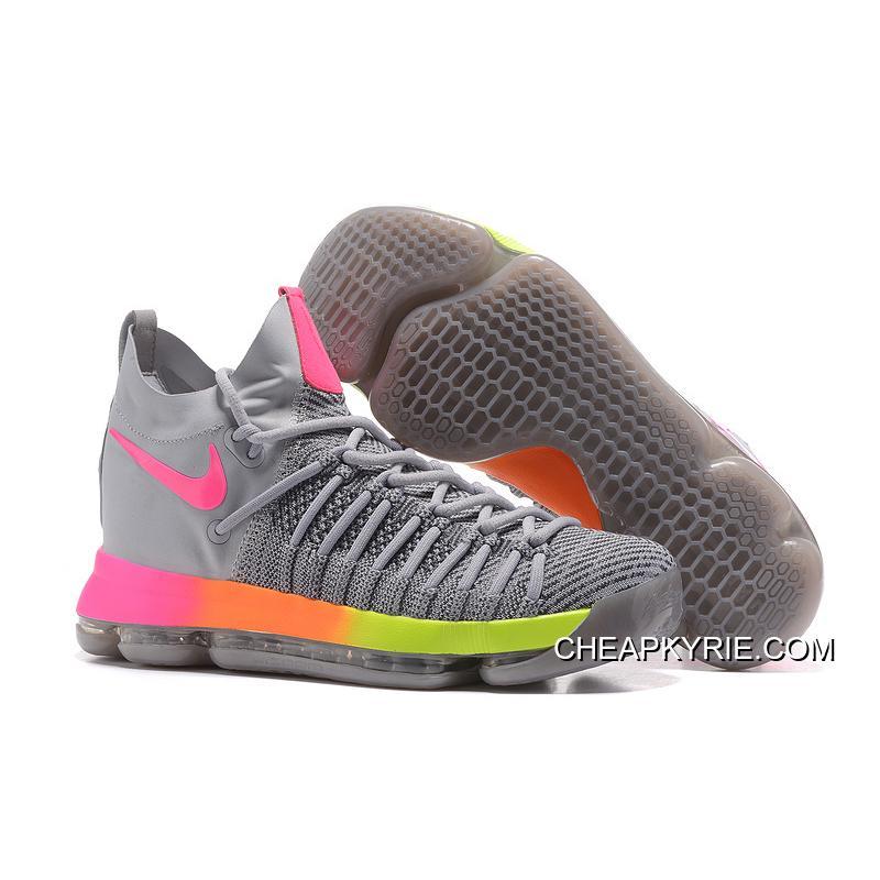 Nike Kd 7 Shoes Id Grey White Pink TopDeals