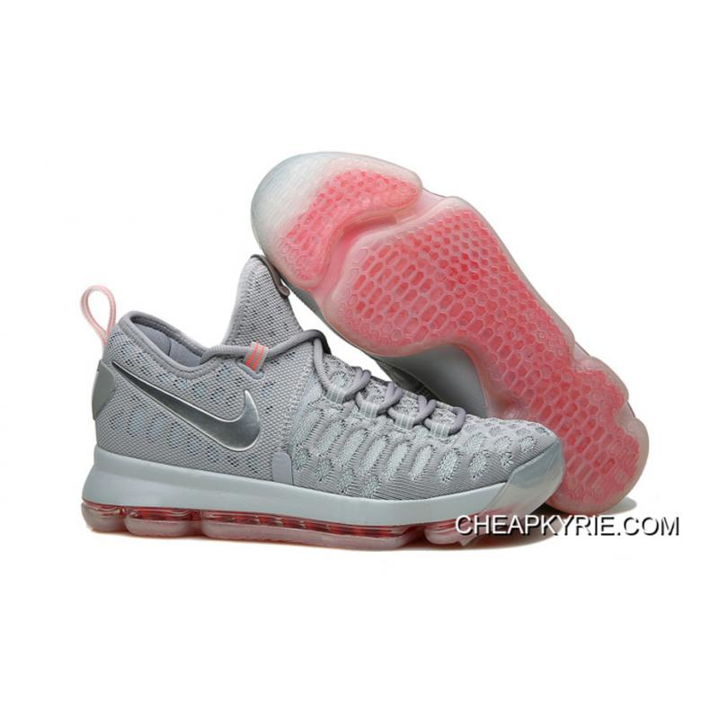 "new product 8c354 6dda4 Nike KD 9 LMTD ""Pre-Heat"" Wolf Grey Multi-Color Top ..."