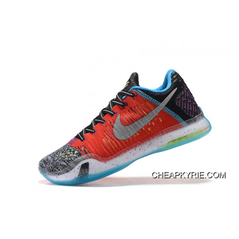"new style 71c3d 6ab13 ... Nike Kobe 10 Elite Low ""What The"" For Sale ..."
