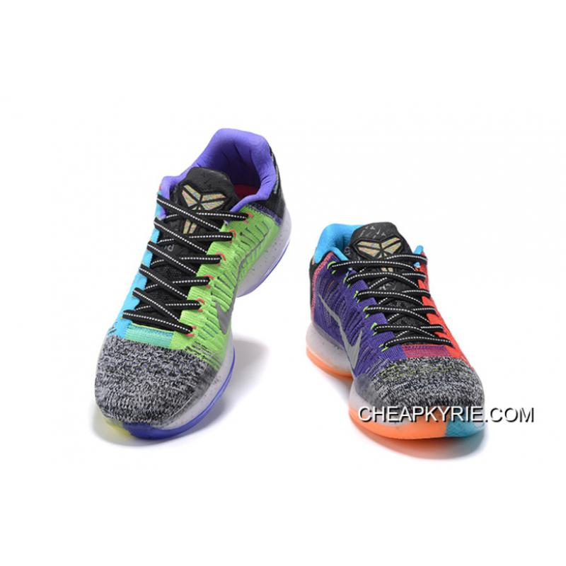 "new style a3739 b7240 ... Nike Kobe 10 Elite Low ""What The"" For Sale ..."