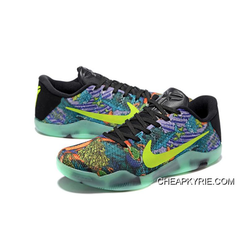 Super Deals Nike Kobe 11 Master Colorful Glow In The Dark Mens Basketball Shoes