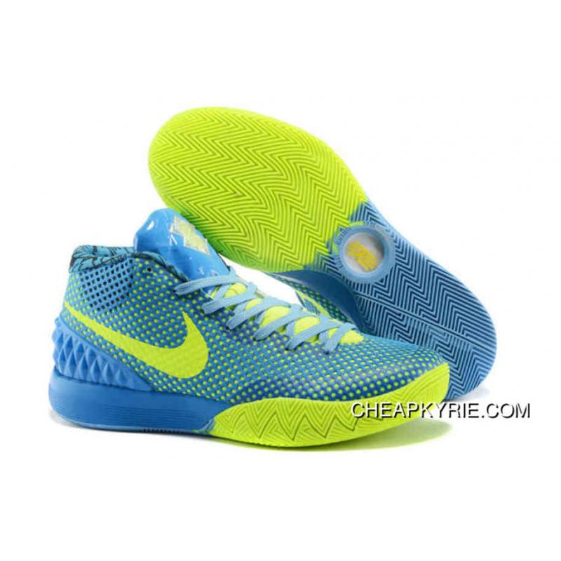 Nike Kyrie 1 Basketball Shoes Sky Blue Volt New Release ...