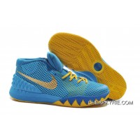 aad47495552d Nike Kyrie 1 Basketball Shoes Cereal Blue Volt Best