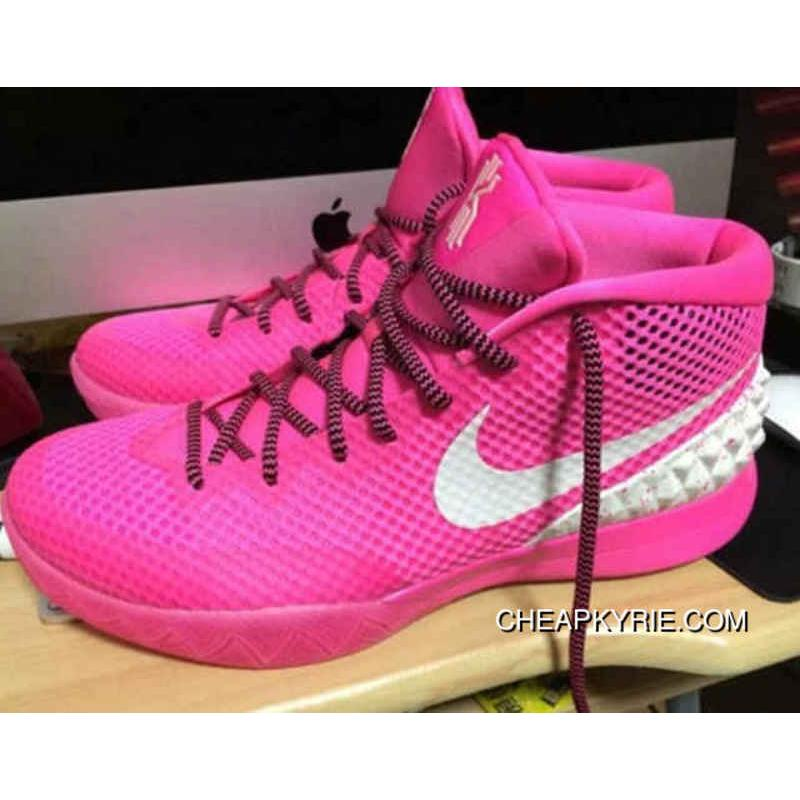 sports shoes 2c850 6c67b Nike Kyrie 1 Mens Shoes Pink White Best