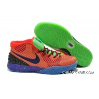 Nike Kyrie 1 Mens Shoes Orange Green Purple Yellow Super Deals