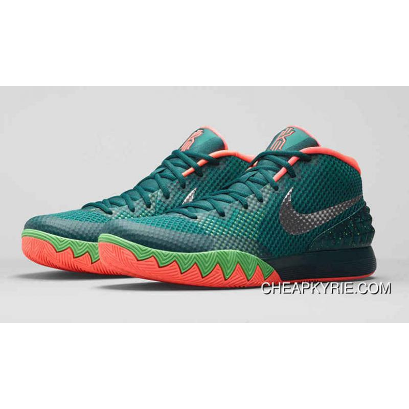 KYRIE 1 Menta/Emerald Green/Fuchsia Flash/White