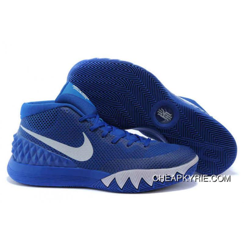 Nike Factory Sale Womens Nike Kyrie 1 Royal Blue White Shoes Online