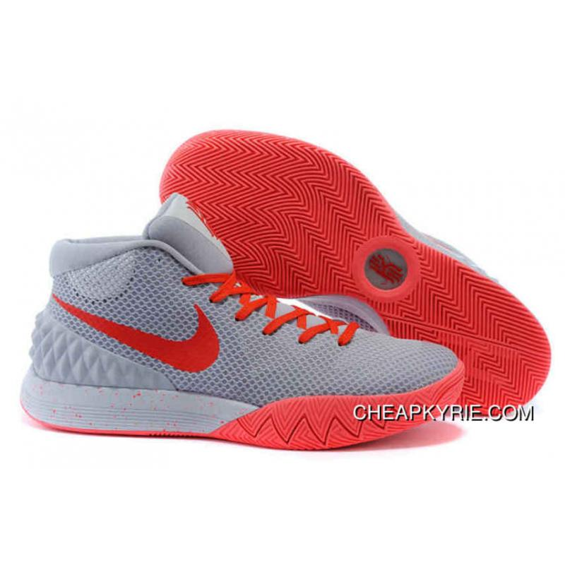 Nike Kyrie 1 Grey/Red Shoe SaleShoes_a0514