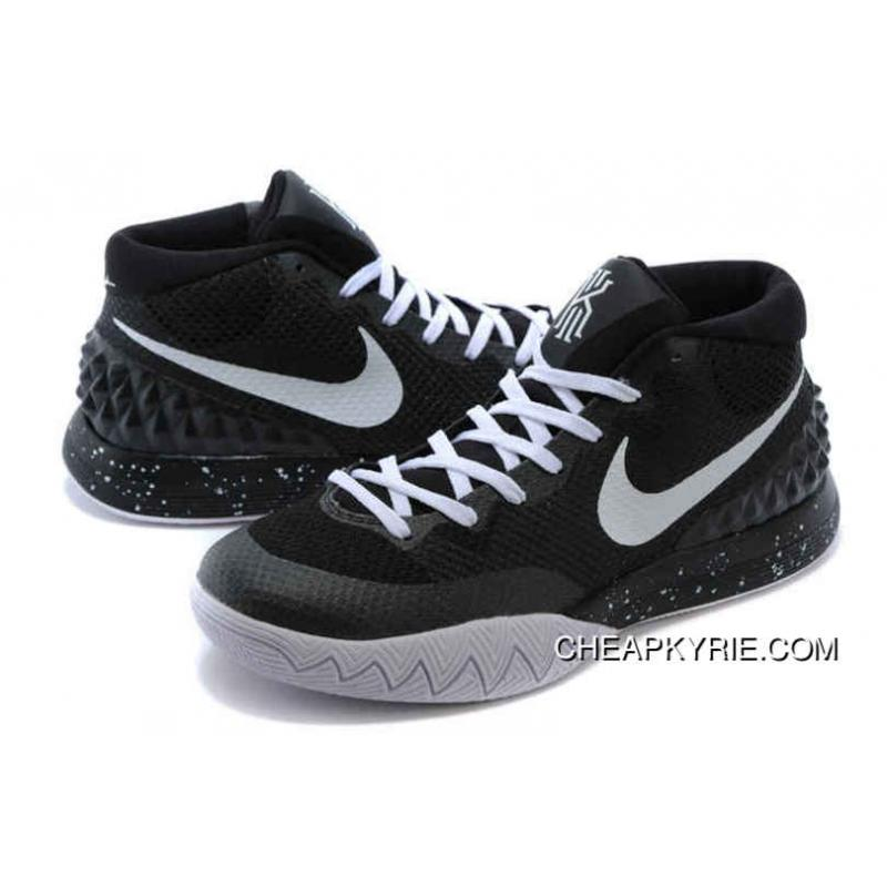 best service 58aa2 25129 ... Authentic Nike Kyrie 1 Shoes Black White Cheap To Buy ...
