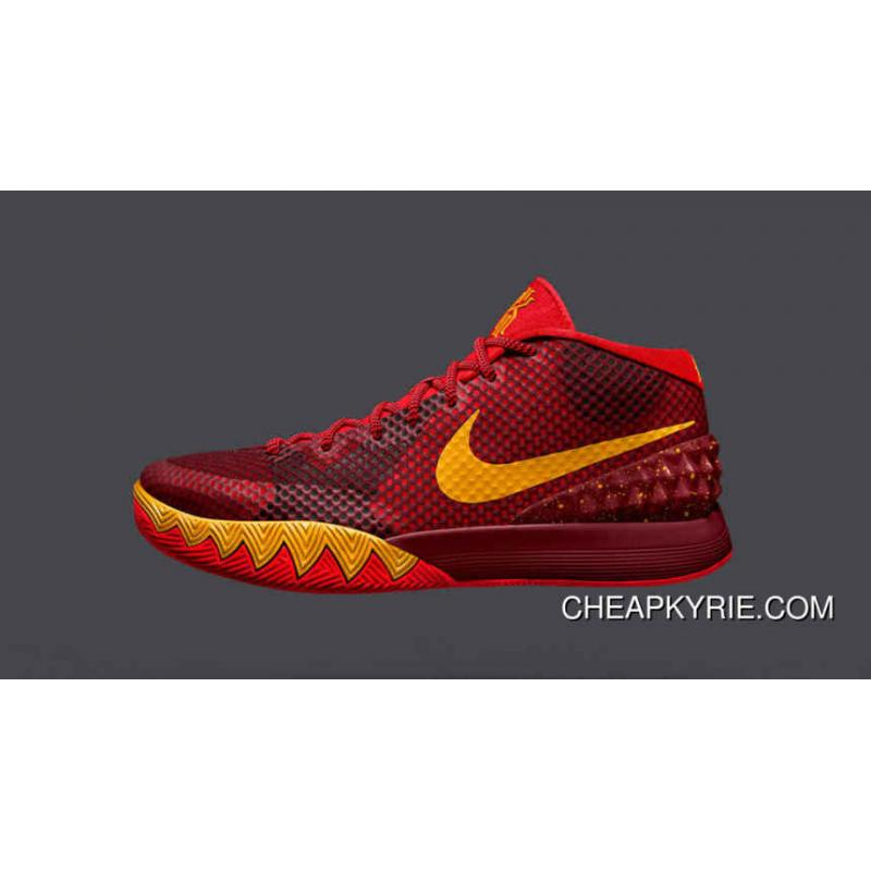 Nike Kyrie 1 ID Red Yellow New Style ...