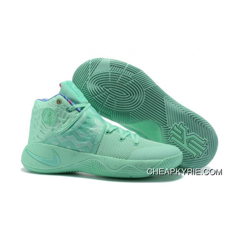 """Cheap """"What The"""" Nike Kyrie 2 Green Glow Green Glow Lastest ... 5152d944c73"""