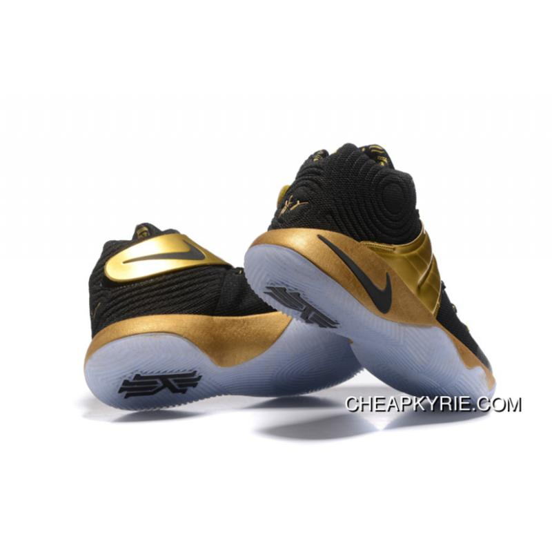 ... Nike Kyrie 2 Black Gold Men's Basketball Shoes Online ...