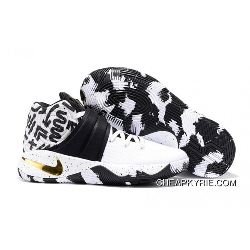 separation shoes 75a8c a5ac4 Nike Kyrie 2 ID Camo White Black And Gold Lastest