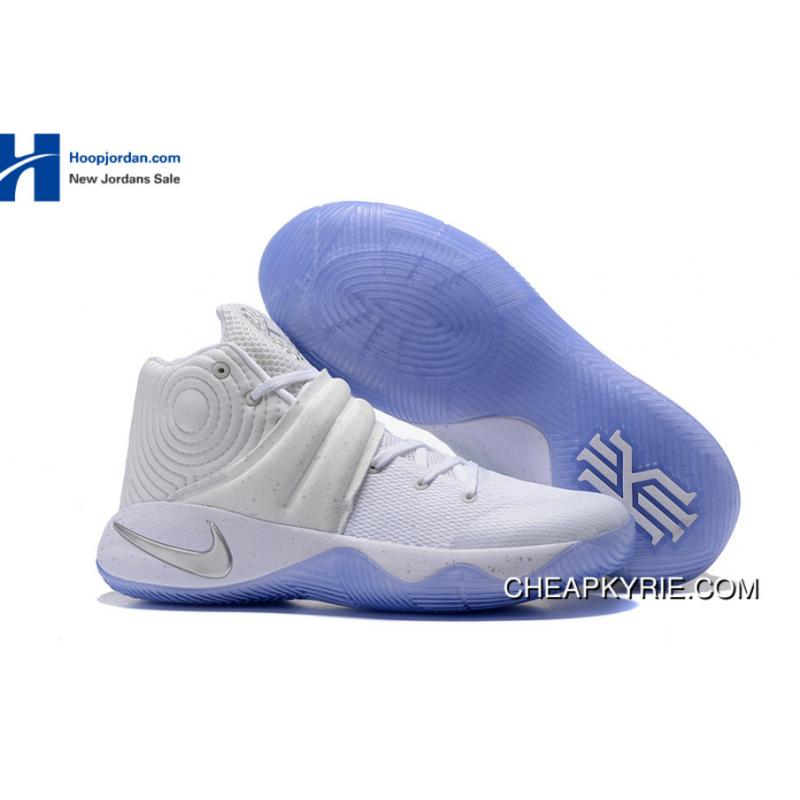 online store a20fd 63ef8 ... sale nike kyrie 2 speckle white metallic silver tour yellow for sale  56a9a 4868e