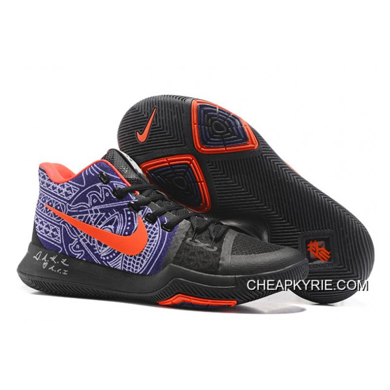 "quality design 9e22e 2079a Nike Kyrie Irving 3 ""Hamsa Hand"" Tattoo Basketball Shoes Online"