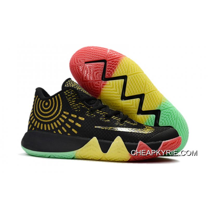 Nike Kyrie 4 Rise  ShineShoes For Men New Style