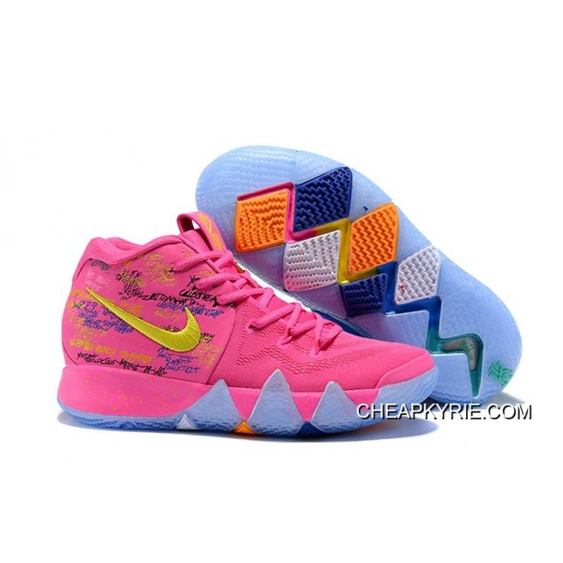 2018 Nike Kyrie 4 What The Pink Teal Online