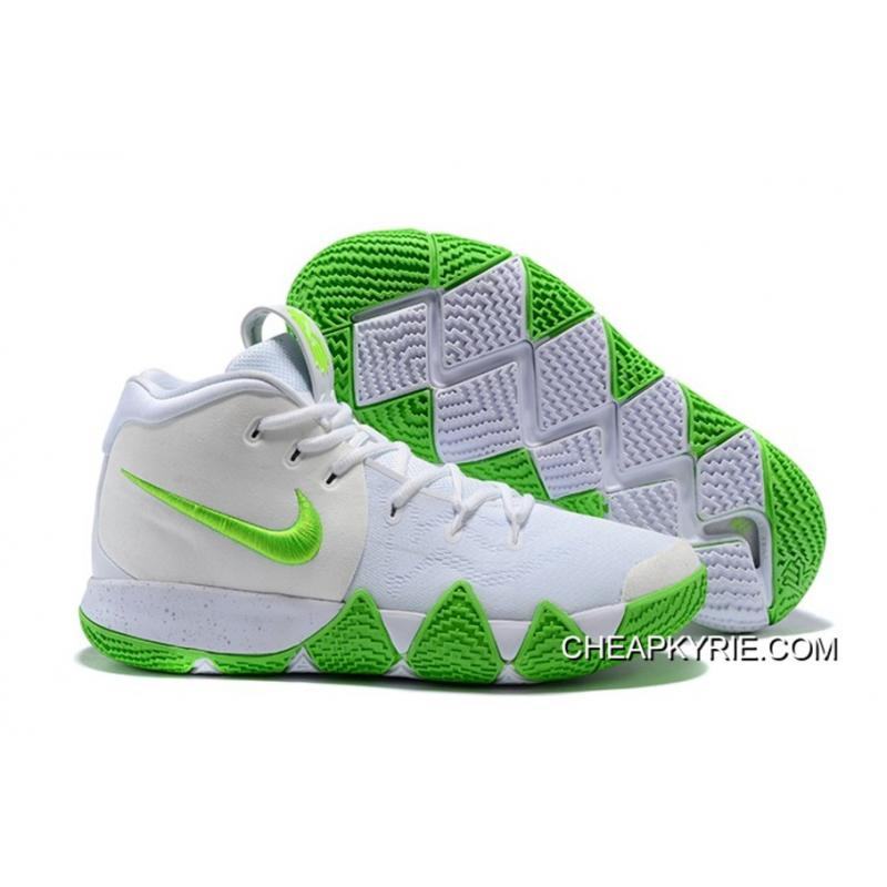 Mountain Dew X Nike Kyrie 4 KARE Kit White Green Latest