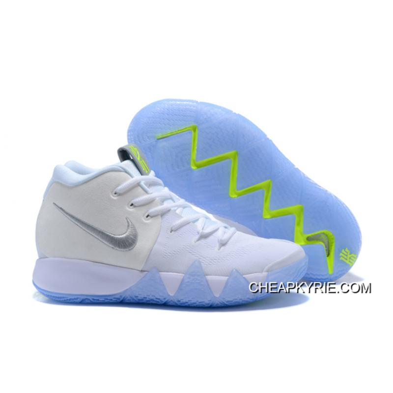 best loved d9600 129f4 Nike Kyrie 4 White/Volt Latest