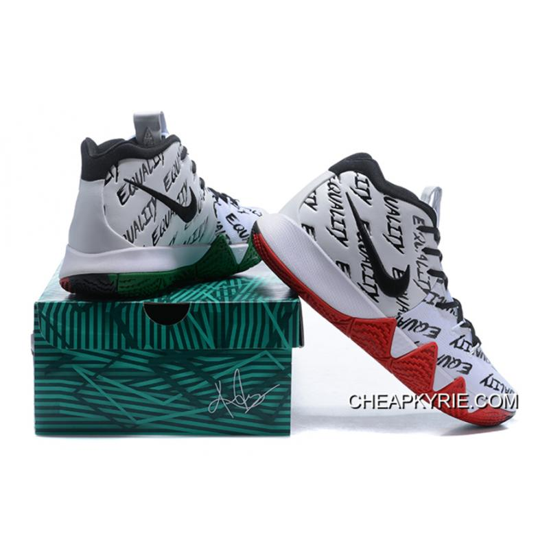 "... For Sale Nike Kyrie 4 ""BHM"" Equality Multi-Color"