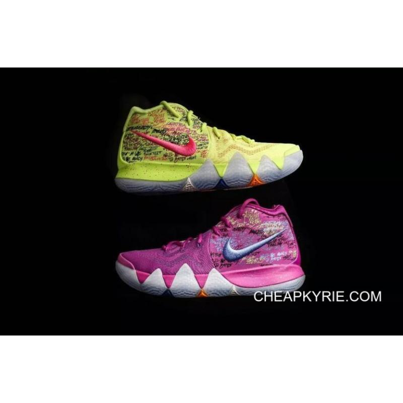 Kyrie Irving 4 Basketball Shoes Purple